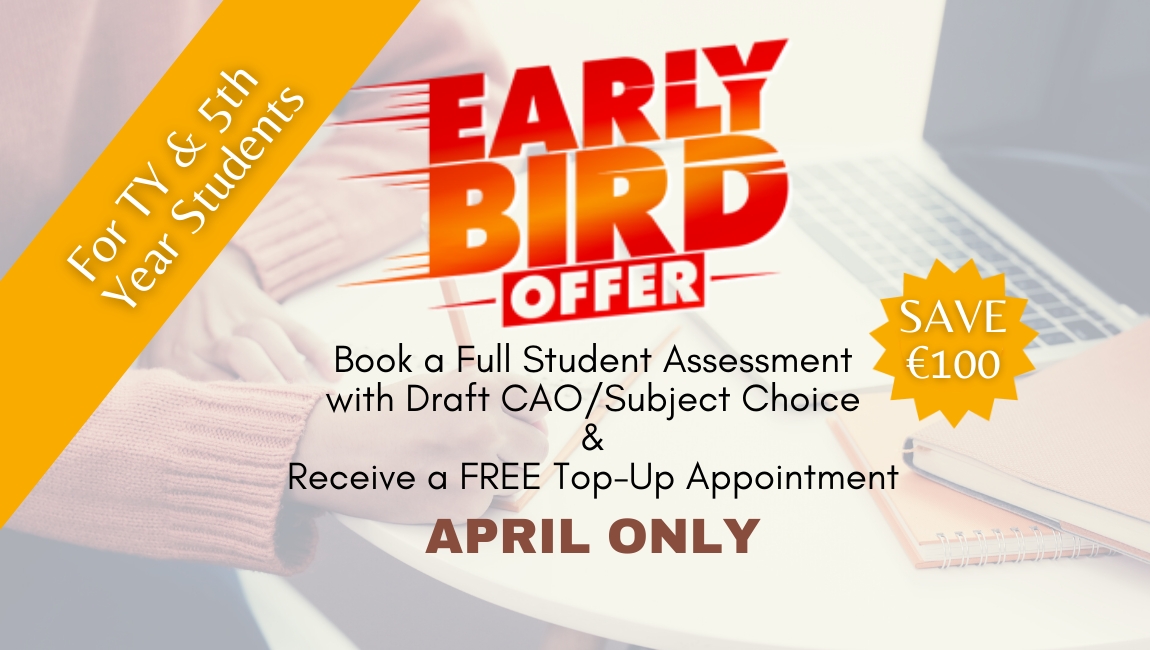 Whitney Career Guidance early Bird April Offer